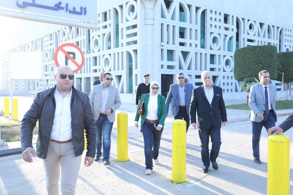 زيارة وزيرة الصحة لمحافظة الأقصر لمتابعة تطبيق التأمين الصحى الشامل