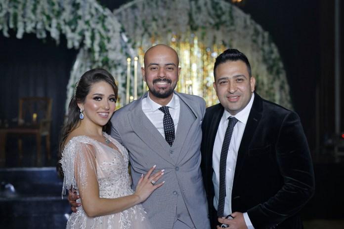 Tamer Hussein avec la mariée