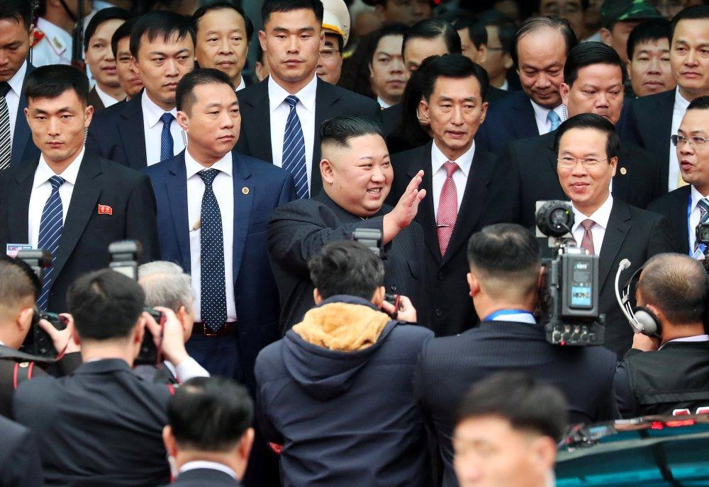وصول زعيم كوريا الشمالية إلى فيتنام (2)
