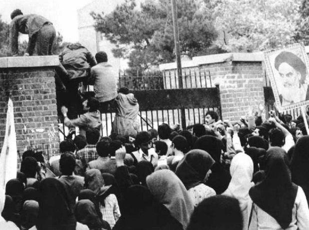 احتجاز الرهائن الامريكية فى 4 نوفمبر 1979