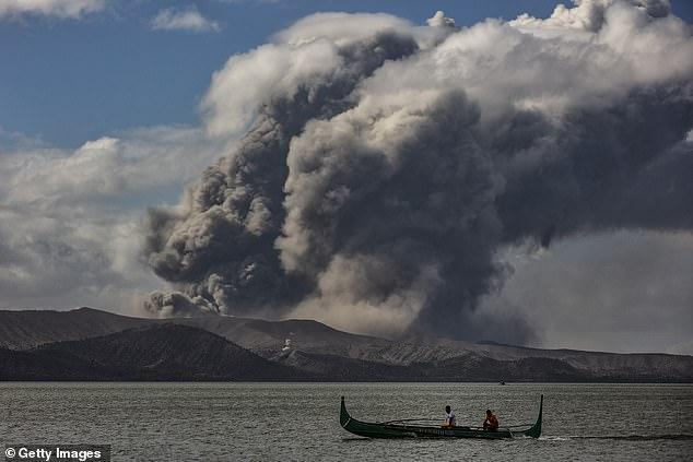 Volcanic eruption 3