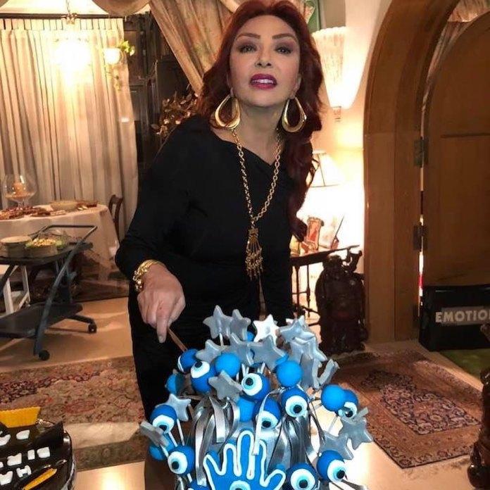 Nabila Obaid on her birthday