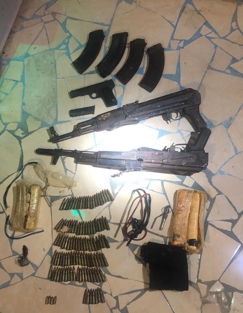 مقتل عنصرين إرهابيين شديدي الخطورةفي اشتباك مع قوات الأمن  بسيناء  (9)