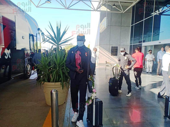 Al-Ahly mission arrives in Cairo from Morocco (2)