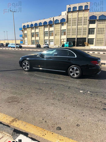 Mohamed Salah arrives at Hurghada International Airport (6)