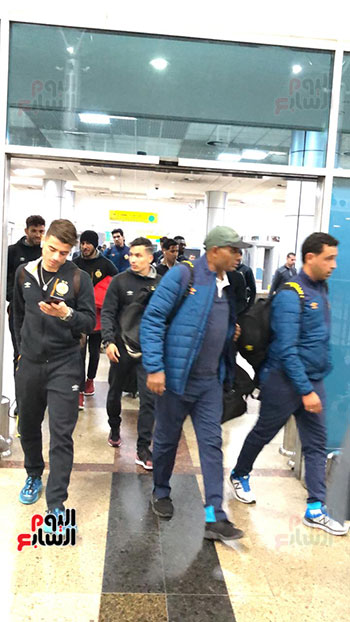 Tunisian Esperance arrives in Cairo (20)