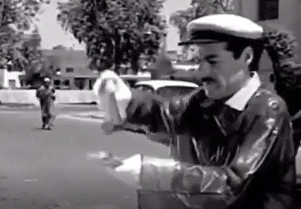 Abdul Salam Al Nabulsi in the movie Habib Hayati sterilizes the money