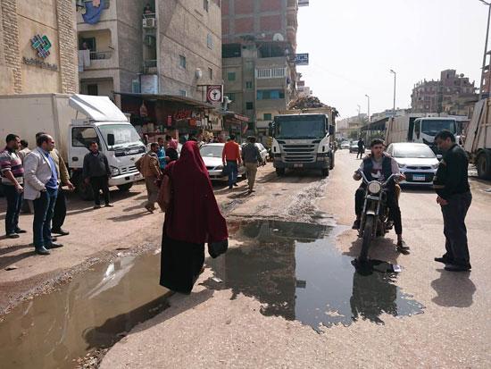 سكان شارع النجدة وقرية السعدية البحرية بدمياط (3)