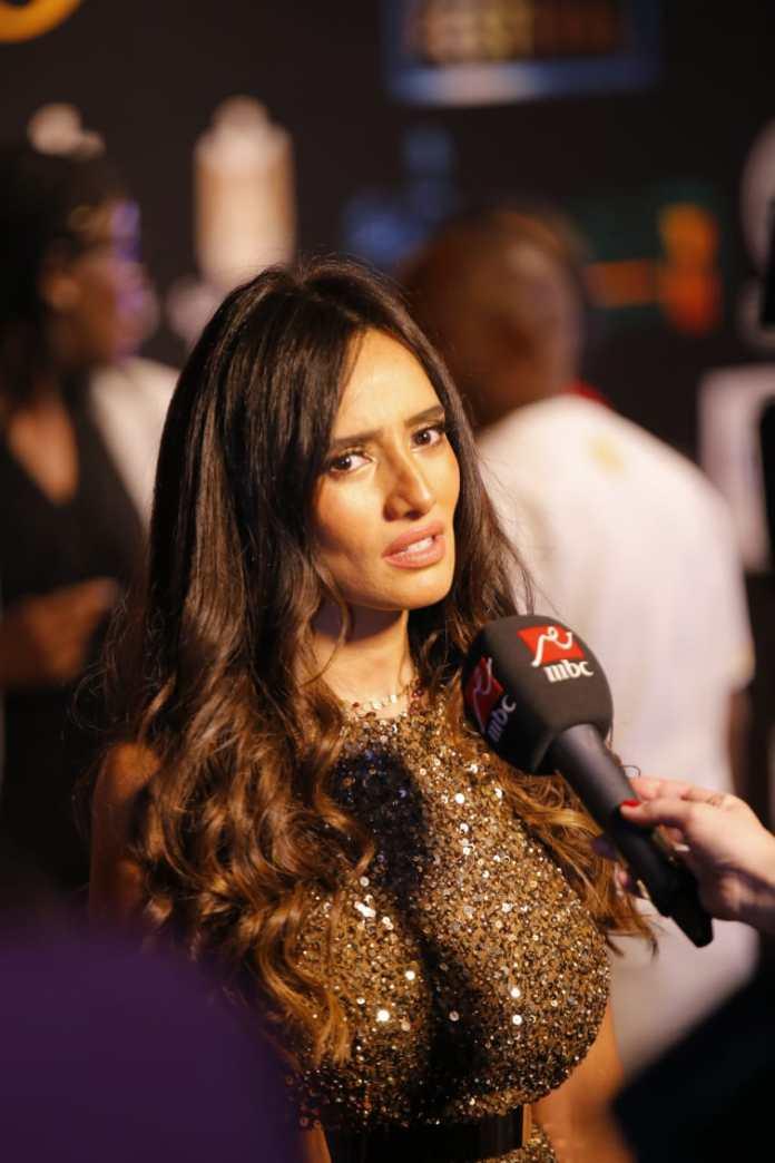 The artist Zina participates in Luxor Festival