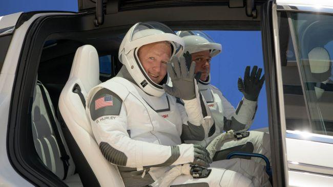 NASA rehearsal