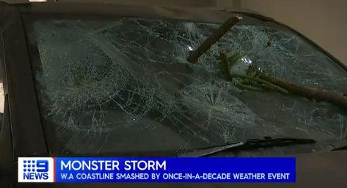Bad weather losses in Australia