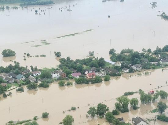 فيضانات تضرب إيفانو فرانكيفسك بأوكرانيا