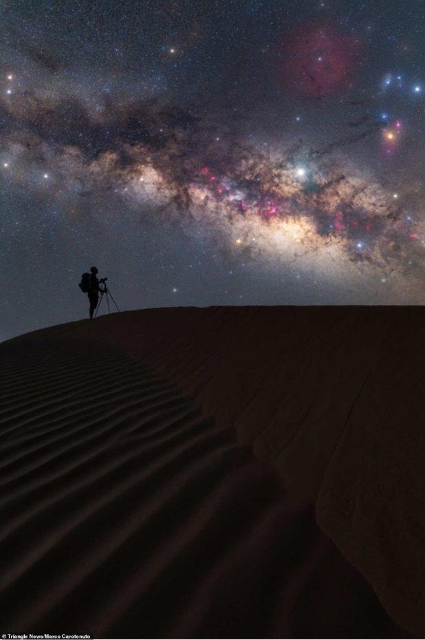 تصوير مجرة درب التبانة