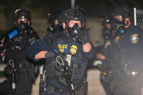 الشرطة الأمريكية ببورتلاند