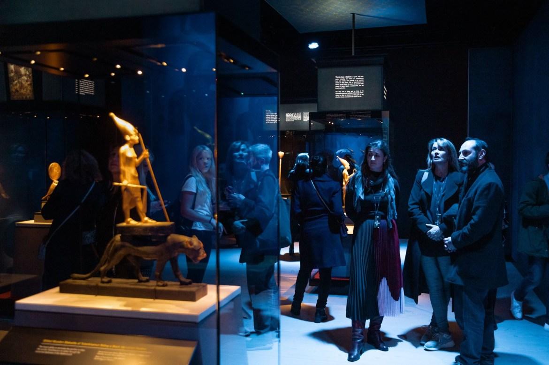 معرض توت عنخ آمون فى لندن (1)