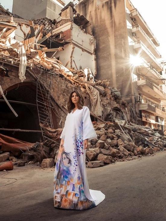 فستان انا بيروت