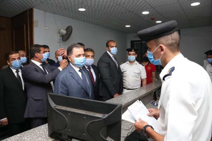 وزير الداخلية يتفقد الحالة الأمنية بالقاهرة والجيزة  (5)