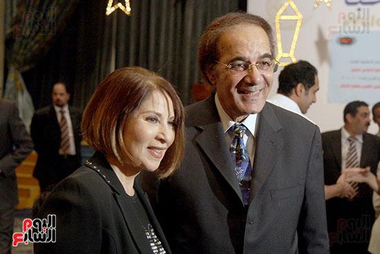 Mahmoud Yassin and Boussi