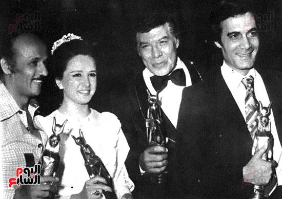 Mahmoud Yassin, Farid Shawky and Naglaa Fathy
