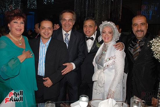 Mahmoud Yassin, Shahira, Ahmed El-Sobky, Mohamed Henedy, Mohamed Saad, and Ragaa El-Jeddawi