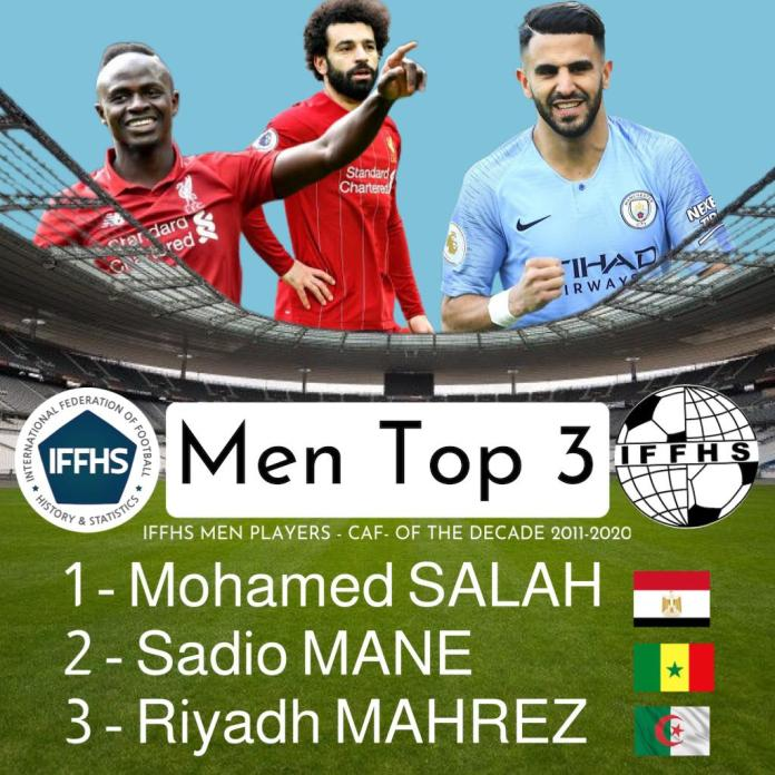 The best 3 players in Africa during the last decade