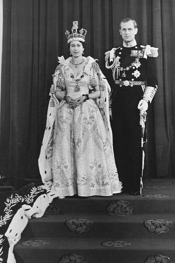 الملكة اليزابيث 1953
