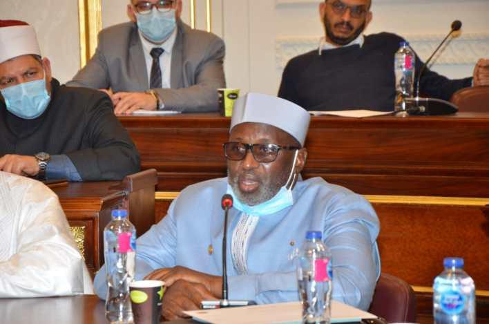 بو بكر يوجو رئيس اتحاد جمعيات المسلمين بدولة بوركينا فاسو