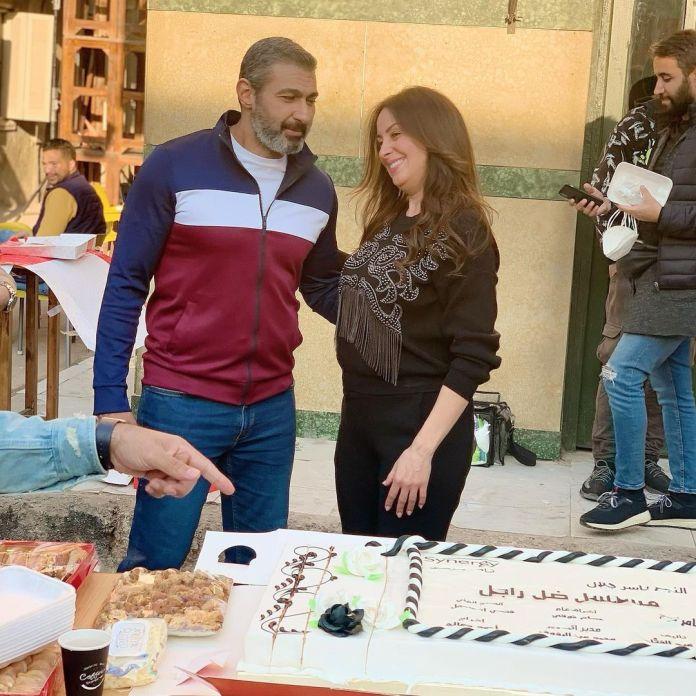 Nermin El Feki and Yasser Jalal