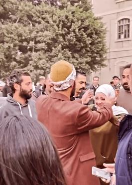 Muhammad Ramadan, the moment to meet the girl