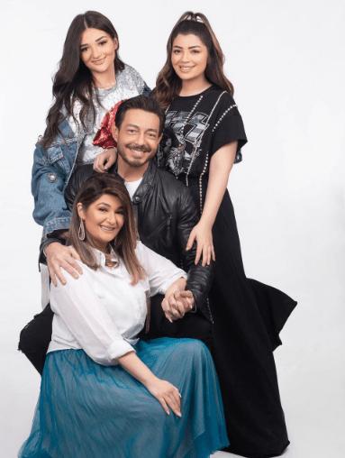 Ahmed Zaher's family on Instagram