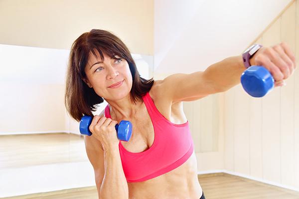 إنقاص الوزن بعد سن الأربعين