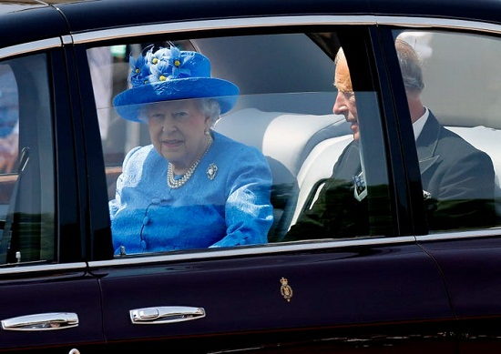 Another picture of the queen
