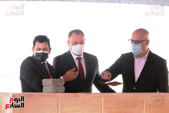 Ceremony laying the foundation stone for Al-Ahly Stadium (64)