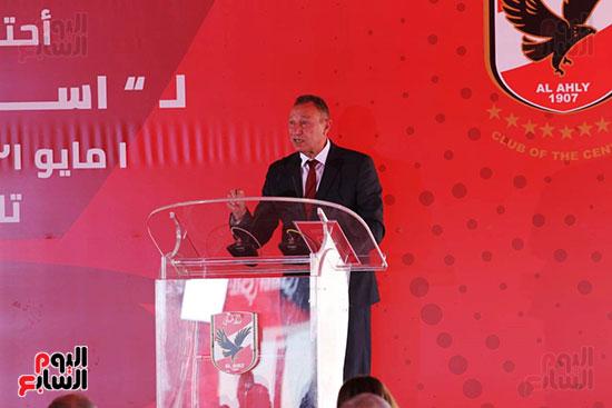 Ceremony of laying the cornerstone of Al-Ahly Stadium (32)