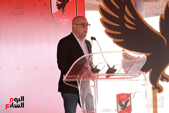 Ceremony laying the foundation stone for Al-Ahly Stadium (51)