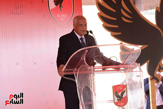 Ceremony laying the foundation stone for Al-Ahly Stadium (59)