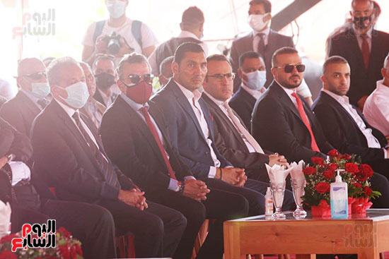Ceremony laying the foundation stone for Al-Ahly Stadium (46)