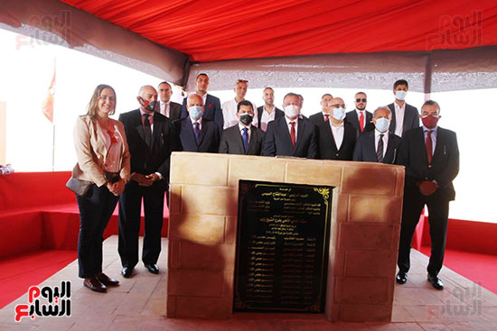 Ceremony of laying the foundation stone for Al-Ahly Stadium (71)