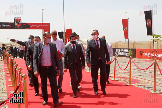 Ceremony laying the foundation stone for Al-Ahly Stadium (25)
