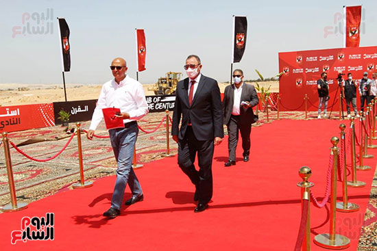 Ceremony laying the foundation stone for Al-Ahly Stadium (18)