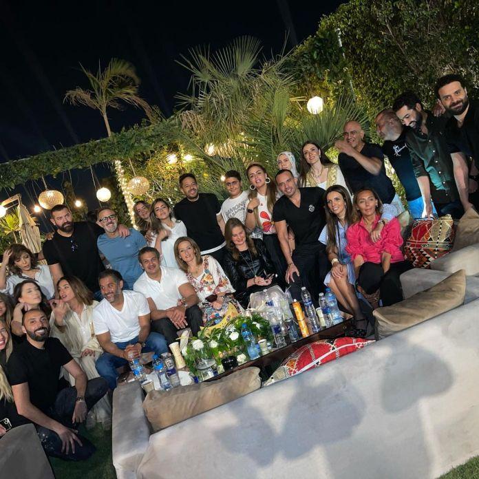 Assaf al-Gharib breakfast party