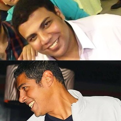 Omar Metwally and the martyr Ahmed Abdel Basit