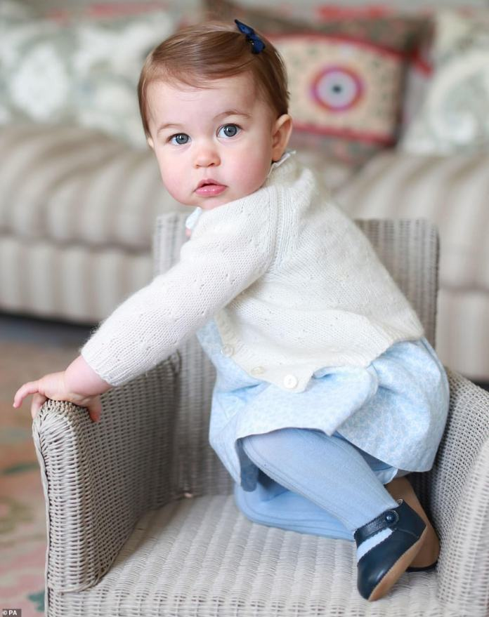 Princess Charlotte when she was young