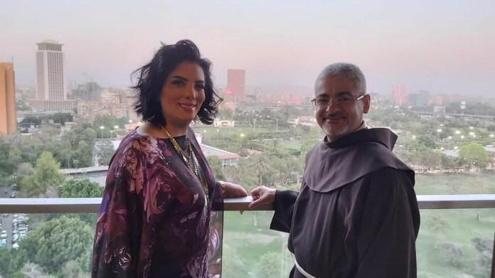 The Catholic Center visits Houria Farghali (1)