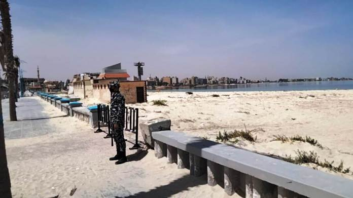 Security services to close the beaches of Matrouh