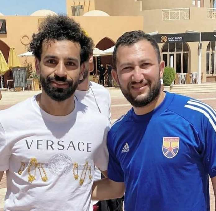 Mohamed Salah and El Gouna players (4)