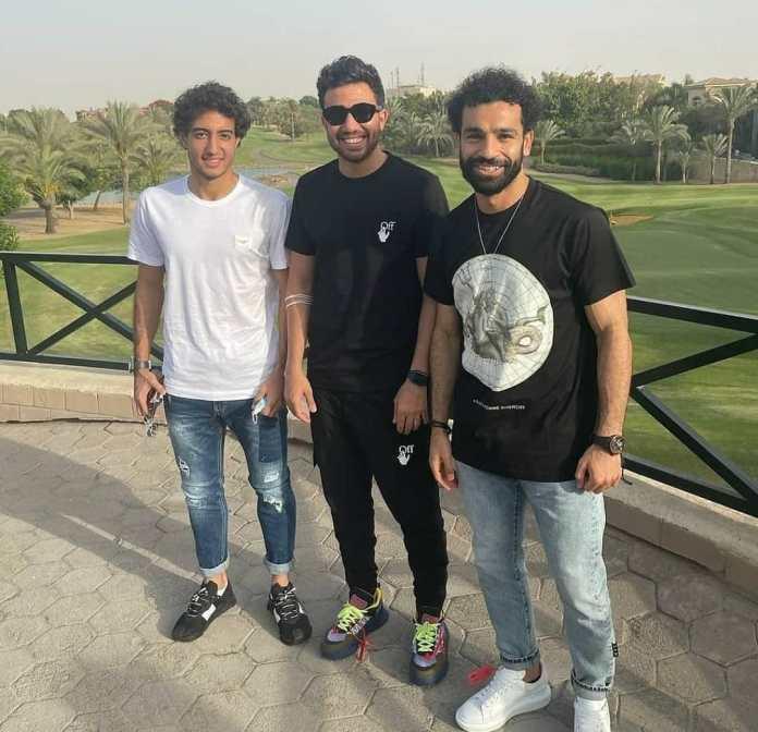 Salah, Trezeguet, and Hani
