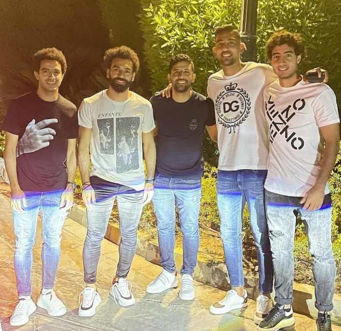Mohamed Salah, Coca, Omar Jaber and Hani