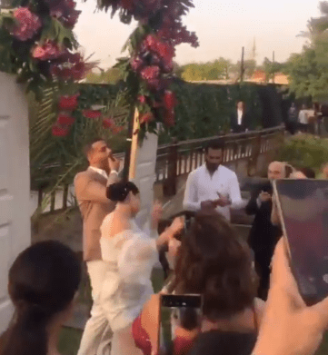 Side of the wedding