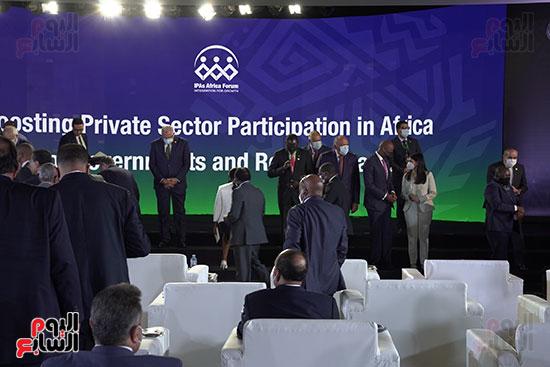 المنتدى الأول لرؤساء هيئات الاستثمار الأفريقية المنعقد بشرم الشيخ (19)